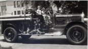 Seagrave Engine with Kids