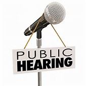 public hearing clipart