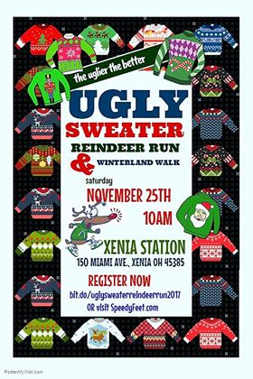 Ugly Sweater 2017 Hometown Christmas Run