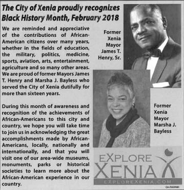 2018 African American History Month Ad
