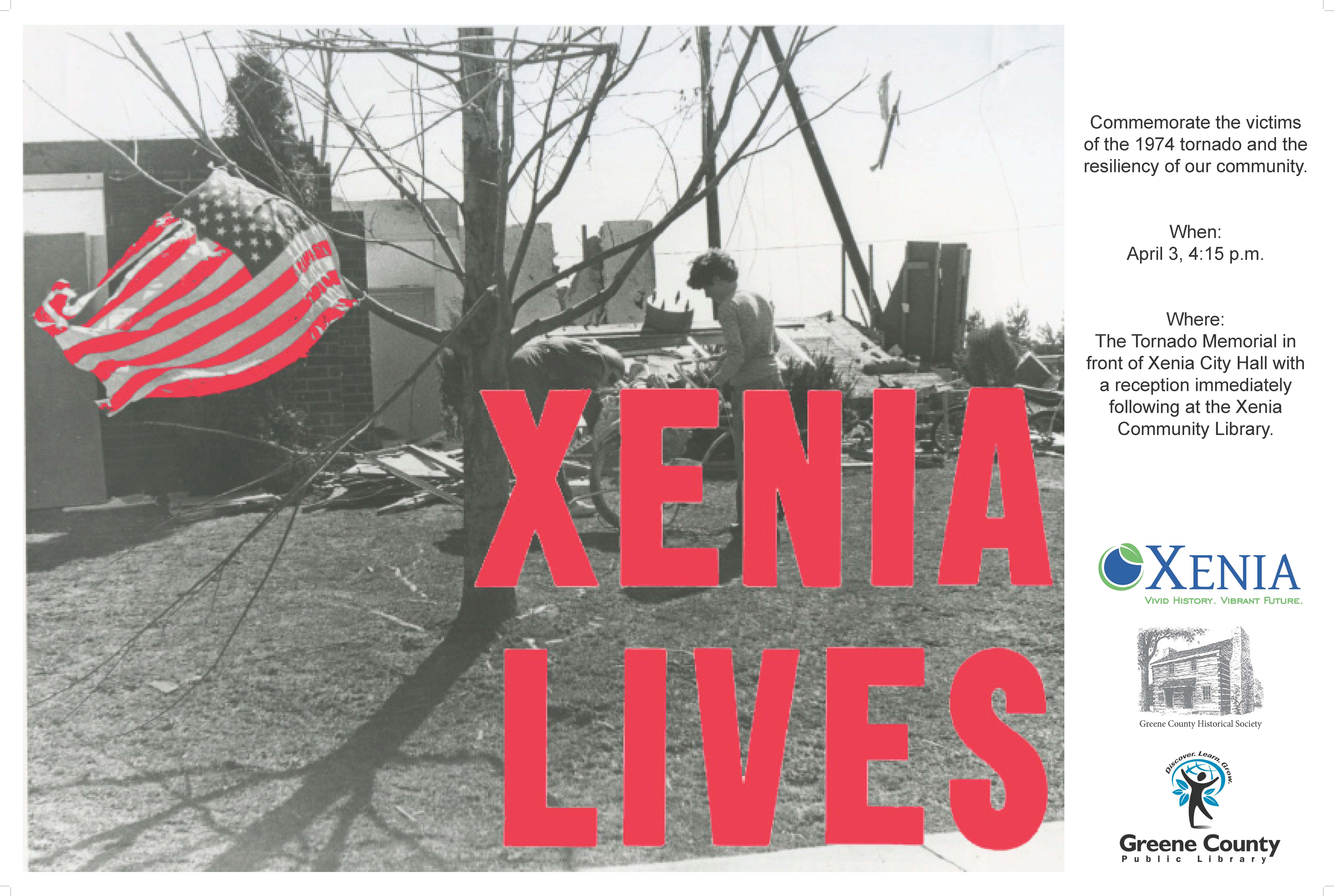 Xenia Lives Poster