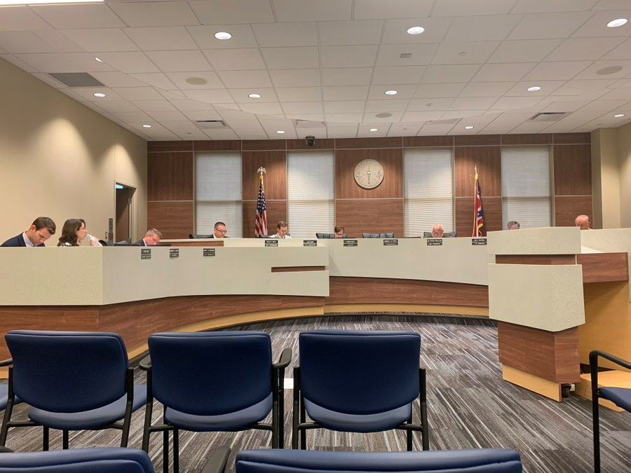 Xenia City Council meeting, Thursday, September 12