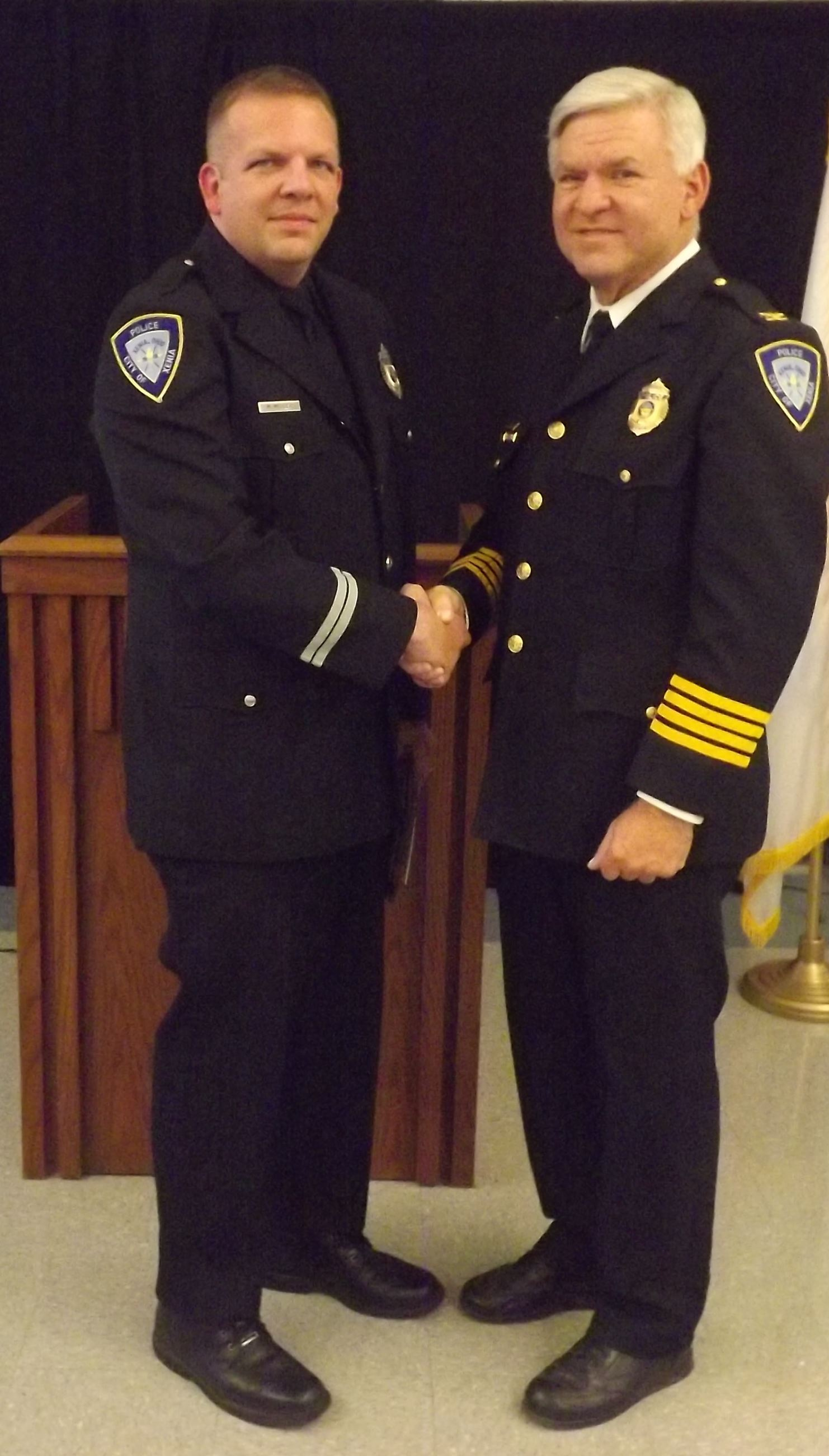 Det. Matthew Miller awarded Casey Elliott Memorial 'City's Finest' Award