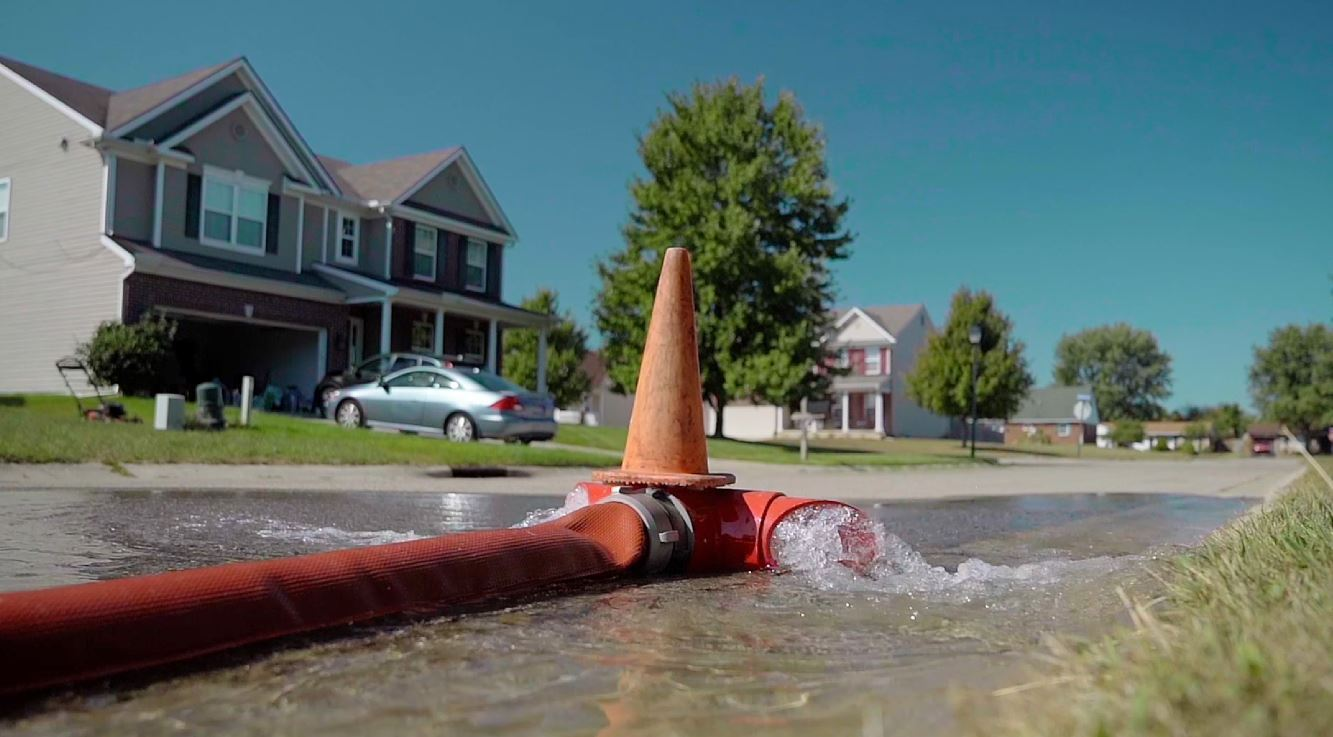 Hydrant Flushing in Xenia