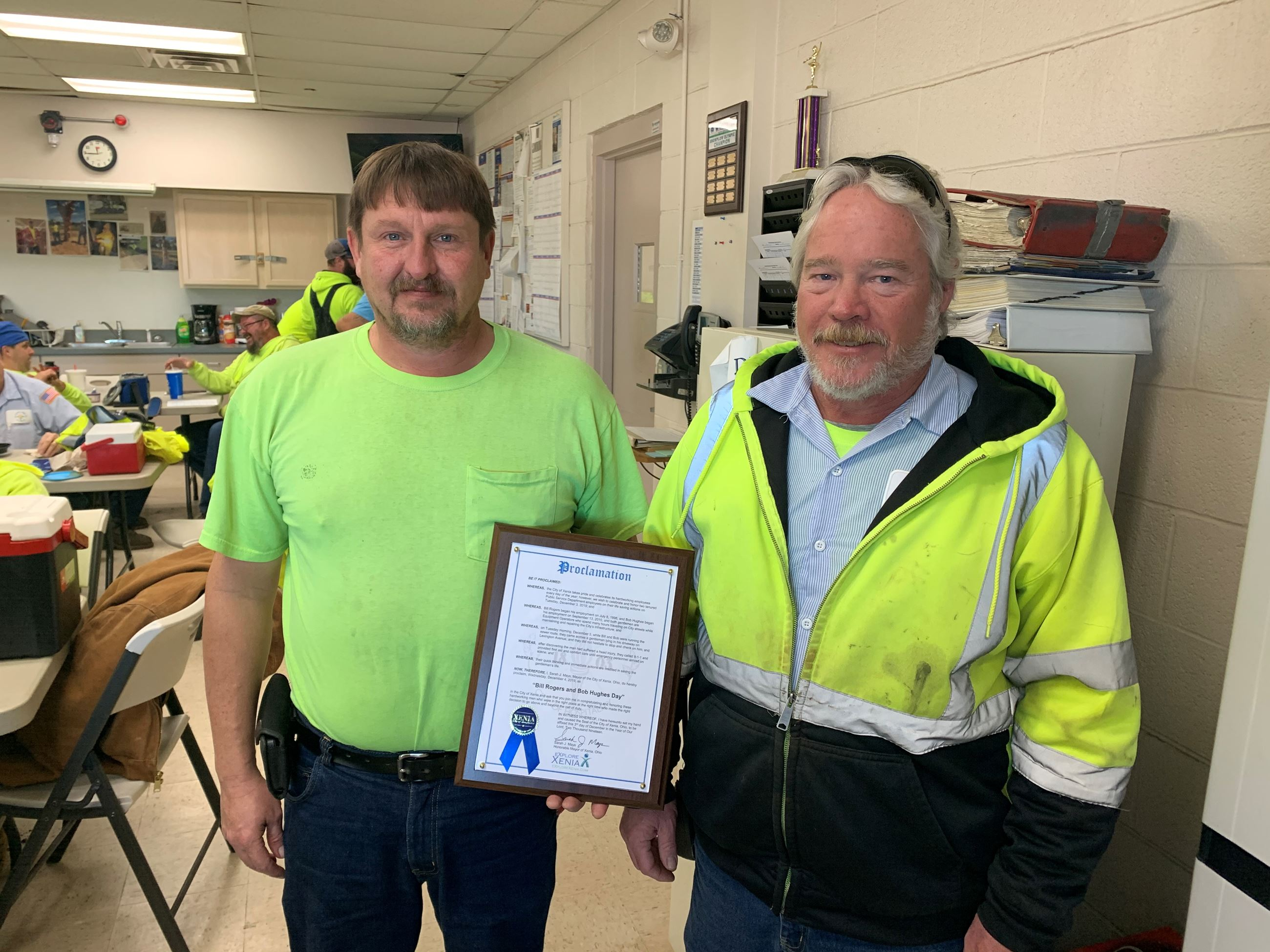 Public Service Workers Honored