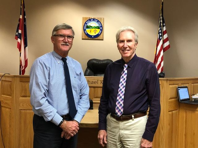 Judge Murry and Pete Creamer