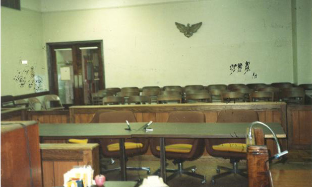 Court Room Seating